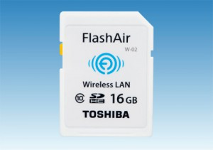 Toshiba SDHC FlashAir W-02