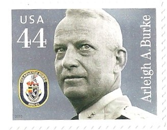 USA - Stamp, 2010 Distinguished Sailors, Arleigh A. Burke